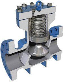 Check Valve Piston Type Marine Engineering, Engineering Tools, Chemical Engineering, Mechanical Engineering, Piping And Instrumentation Diagram, Safety Valve, Mechanic Tools, Hydraulic Pump, Homemade Tools