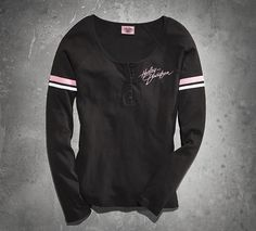 Womens Pink Label Performance Knit Top | Tees | Official Harley-Davidson Online Store