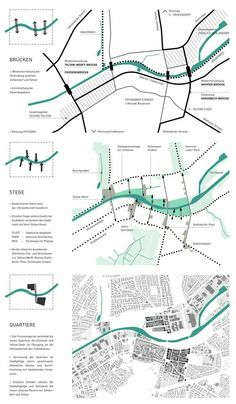 Tatjana Busch Elisabeth Stieger 2016 Teltow Connection Berlin DE via Villa Architecture, Architecture Mapping, Architecture Graphics, Architecture Portfolio, Concept Architecture, Architecture Diagrams, Urban Design Diagram, Urban Design Plan, Urbane Analyse