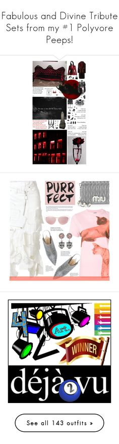 """Fabulous and Divine Tribute Sets from my #1 Polyvore Peeps!"" by curekitty ❤ liked on Polyvore featuring Altuzarra, Dsquared2, NOVICA, Anna Sui, TONYMOLY, Givenchy, La Perla, Rodarte, Emporio Armani and Christian Dior"