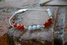 Pacific Sunset Bracelet by TheseJoyfulAches on Etsy