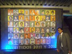 Foto con el póster de los investidos del 2011 y 2012. Esa ceremonia se hace cada noviembre en el Salón de la Fama de Pachuca / #viajes #travel #viajesmuseo #traveller #travelling #vacation #placestovisit #trips