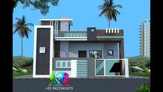 House Arch Design, Single Floor House Design, Modern Small House Design, Front Gate Design, Village House Design, Duplex House Design, Wall Design, Front Elevation Designs, House Elevation