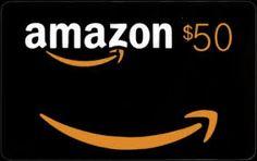 Easiest ever $50 Amazon GC Giveaway #Amazon #Giveaway http://www.terrislittlehaven.com/2014/07/27/easiest-ever-50-amazon-gc-giveaway/