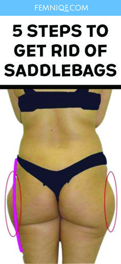 How To Get Rid of Saddlebags (Step By Step)