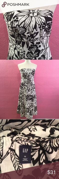 Summer strapless dress Summer strapless dress GAP Dresses Strapless