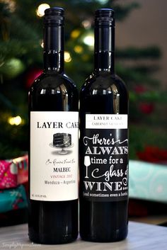 DIY Wine Hostess Gift 2