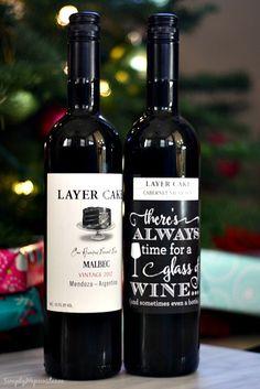 DIY Wine Hostess Gift 2