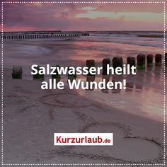 Salzwasser heilt alle Wunden