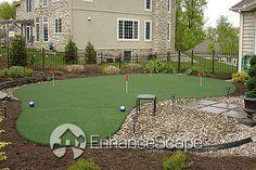 Image detail for -backyard putting green photo, backyard putting green picture