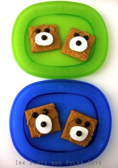 Ink Blots & Polka Dots: A Fun Snack / Treat for Kids