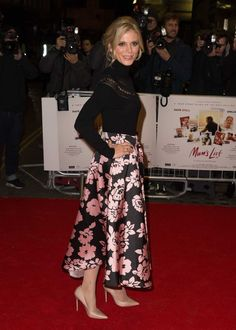 Emilia Fox, Floral, Skirts, Fashion, Moda, Fashion Styles, Flowers, Skirt