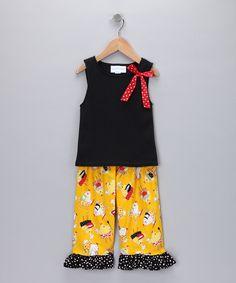 Carolina Kids - tank and capri pants