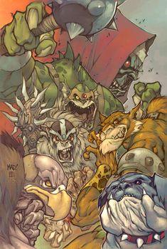 Thundercats cover by Joe Madureira
