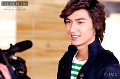 Lee Min Ho: Those curls actually frame his face nicely