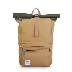Poplar Camera Rolltop Backpack by hellolulu
