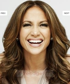 Best Long Sepia Curly 100% Indian Remy Hair Wigs for Women - $282.99 - Trendget.com
