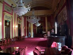 The Grand Saloon Bar of the Theatre Royal, Drury Lane - Photo M.L. 2011