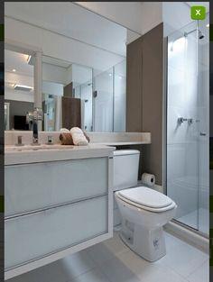 Banheiro Small Bathroom Sinks, Bathroom Supplies, Small Bathroom, Bathroom, Toilet Design, Bathroom Sink, Bathroom Decor, Bathroom Inspiration, Bathroom Wall