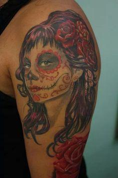 # day of the death #Tattoo#Dermadonna