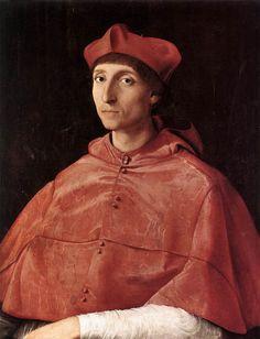 Portrait of a Cardinal - Raphael