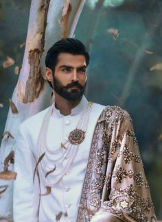 From Hairy to Smooth, Old to Young, Clothed or Nude, The world is filled with beautiful Men. Sherwani, Indian Men Fashion, Mens Fashion, Fashion Glamour, Vogue Fashion, Gorgeous Men, Beautiful People, Traje A Rigor, Indian Groom Wear