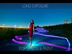 Strobist video: Long Exposure portraits & Light Painting Fujifilm X-T1 / 長時間露光で ポートレート & ライトペインティング - YouTube