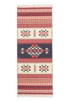 Kilim Southwestern rug  runner 80x200 cm by TheKindreds on Etsy
