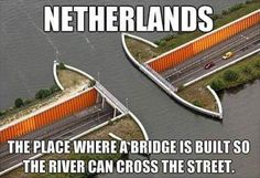 In Soviet Holland River Cross You