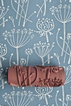 Another option for patterned paint rollers. Tussock patterned paint roller by patternedpaintroller on Etsy. Patterned Paint Rollers, Paint Rollers With Designs, Textured Paint Rollers, Diy Décoration, Home And Deco, Painting Patterns, Painting Tips, Painting Art, Paintings