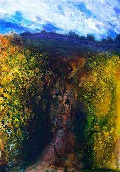 On the Trail, Dawn - Original Fine Art for Sale - © John Ogrady