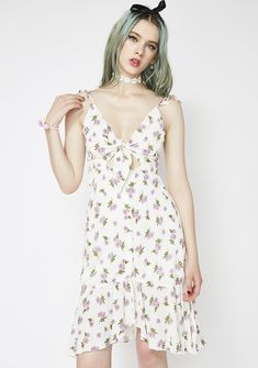 b5de3d41ac47 Etophe Studios Free, fast shipping on Floral Cutout Tie Dress at Dolls  Kill, an