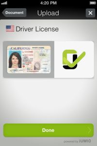 Jumio Brings Identity Verification To Mobile Apps – Just Hold Up Your ID To TheCamera