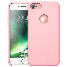 awesome iPhone 7 Case, i-Blason Silicone   Case for Apple iPhone 7 2016 Release (Pink)