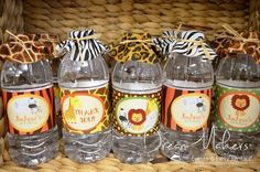 Сафари! | Детский праздник: декор, бесплатные шаблоны
