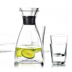 Karafka do wody 1 l z 4 szklankami, zestaw - Eva Solo