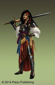 Paizo-Imelda Gael by starvinartist on DeviantArt