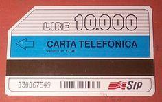 Quando gli smartphone non esistevano e noi chiamavamo con le mitiche schede telefoniche!