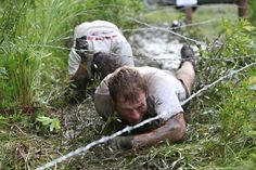 Grueling mud run.  Looking forward to doing this at the end of 2012!