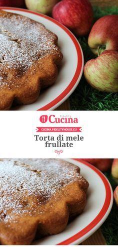 #Torta di #mele frullate della nostra utente Simona. Unisciti alla nostra Community ed invia le tue ricette!