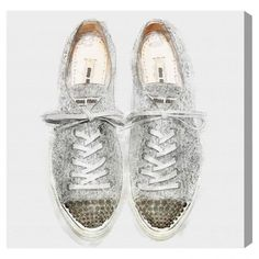 Glitter Sneakers — The Oliver Gal Artist Co.