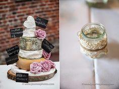 Les moineaux de la mariée: Pièce montée de fromages