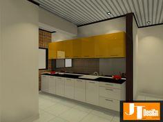 Acrylic Kitchen Cabinet Design