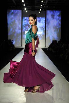 La diseñadora mexicana, Reina Díaz, también estuvo presente en la edición 56 dentro de las pasarela de Salón Jalisco