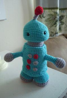 Robots Can Be Cuddly.. amigurumi pattern