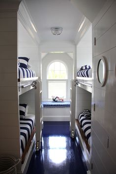 Nautical bunk room   Waterfront Residence, CT