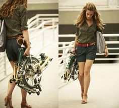 Take It With You. Have A Folding Bike Will Travel.