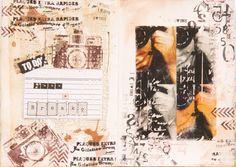 Maria Schmidt Scrap-Art-Design Art Journal Challenge, Schmidt, Scrap, My Arts, Photo And Video, Art Journaling, Design, Hue, Art Diary