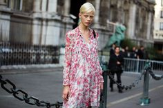 See what the models are wearing off duty in Paris – Of The Minute