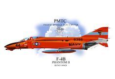USN F-4B Phantom II Profile